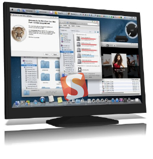 Mac Mountain Lion Skin Pack for Windows 7
