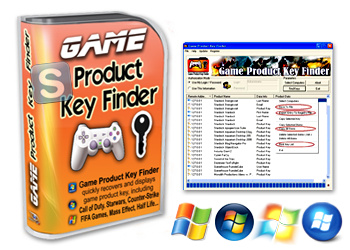 Nsasoft Game Product Key Finder