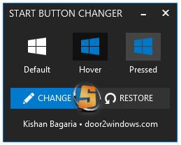 Windows 8.1 Start Button Changer