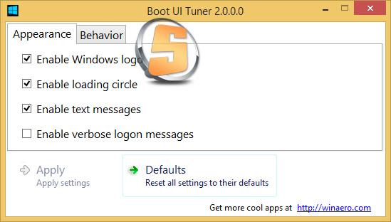 Boot UI Tuner