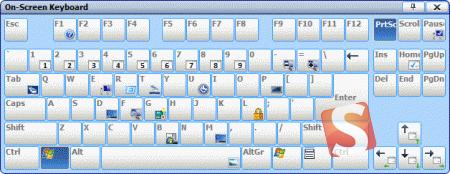 Comfort On-Screen Keyboard