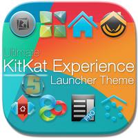 KitKat 4.4 Launcher Theme