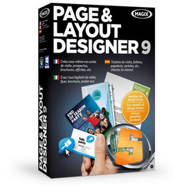 MAGIX Page Layout Designer